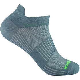 Wrightsock Coolmesh II Low Tab Chaussettes, steel grey